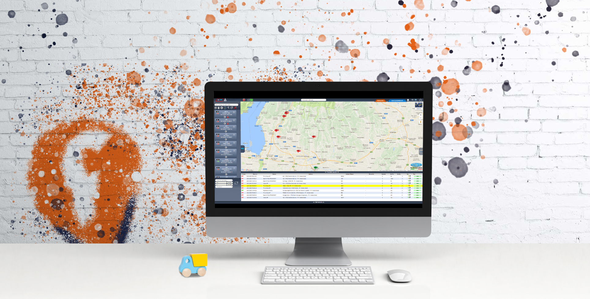 System Lokalizacji oraz Zarządzania Flotą
